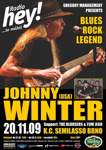 Johnny Winter v Semilassu