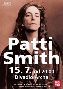 Patti Smith v Arše